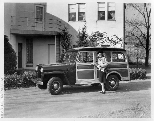 Brooks Stevens Jeep Station Wagon And Rural Willys Design All Steel